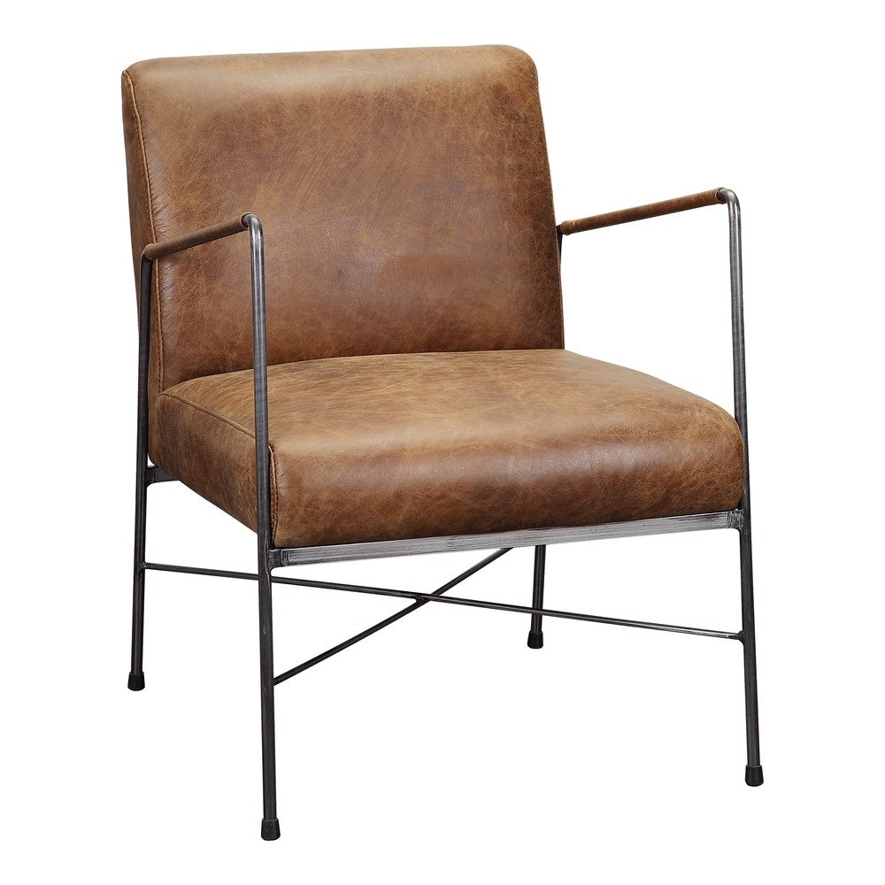 Moe's Home Collection - Dagwood Leather Arm Chair