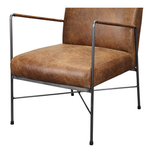 Thumbnail of Moe's Home Collection - Dagwood Leather Arm Chair