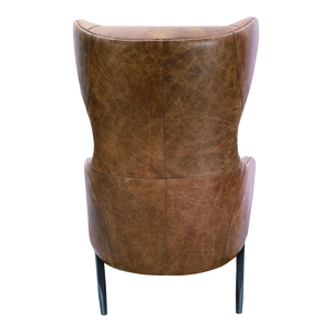 Thumbnail of Moe's Home Collection - Amos Leather Accent Chair