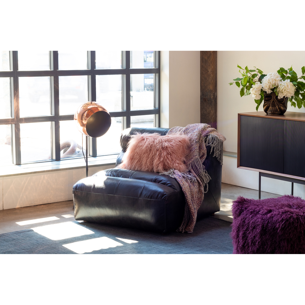 Moe's Home Collection - Ramsay Leather Slipper Chair
