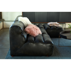Thumbnail of Moe's Home Collection - Ramsay Leather Slipper Chair