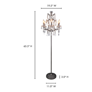 Thumbnail of Moe's Home Collection - Luisa Floor Lamp