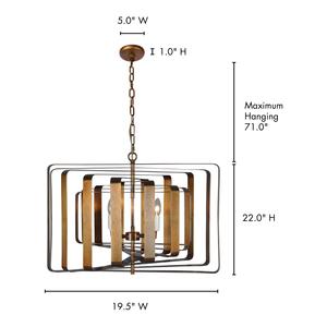 Thumbnail of Moe's Home Collection - Kensington Pendant Lamp