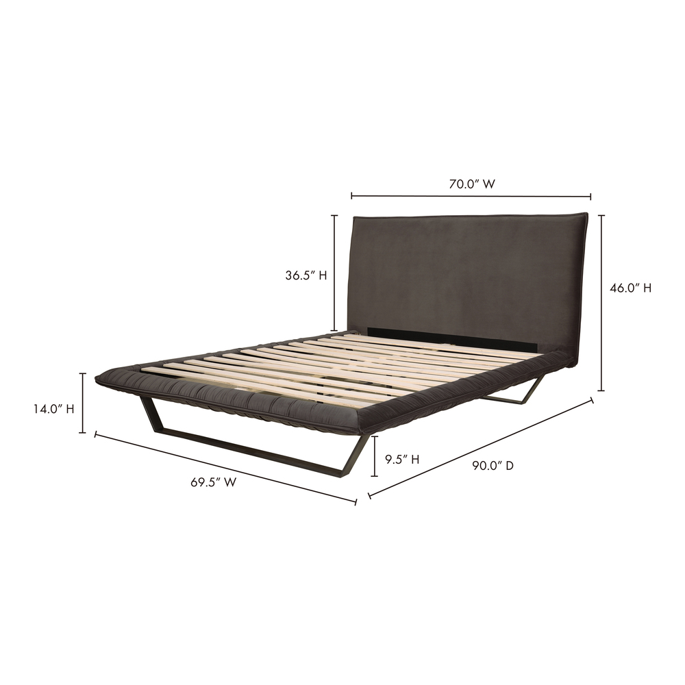 Moe's Home Collection - Manilla Queen Bed