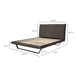 Thumbnail of Moe's Home Collection - Manilla Queen Bed