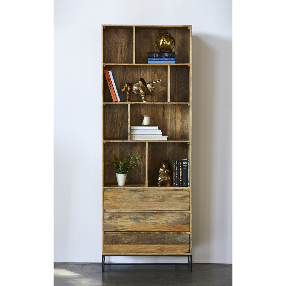Moe's Home Collection - Colvin Shelf w/ Drawers