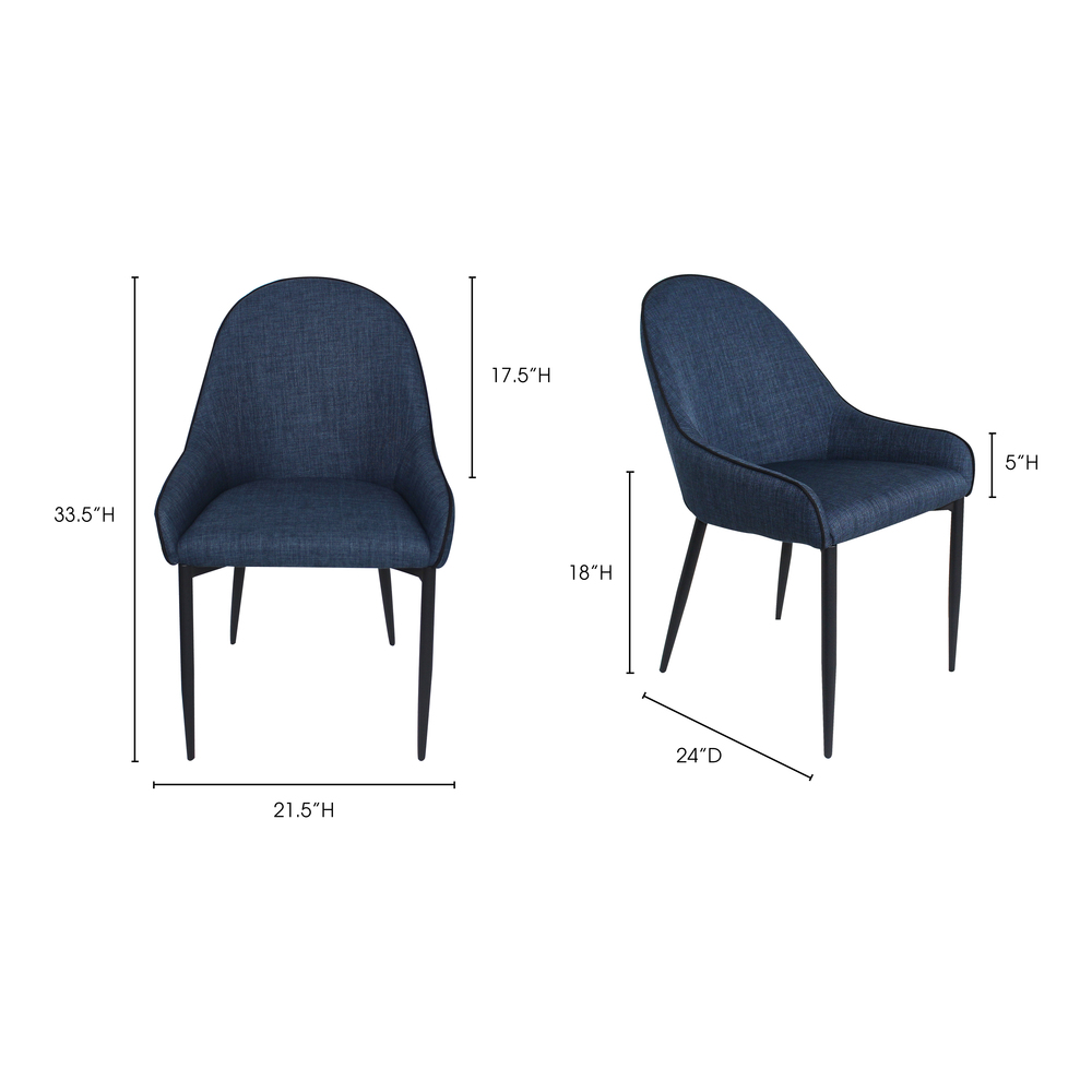 Moe's Home Collection - Lapis Dining Chair (M2)