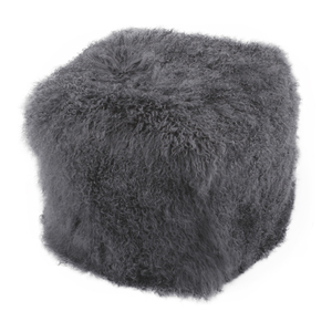 Thumbnail of Moe's Home Collection - Lamb Fur Pouf