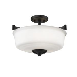 Thumbnail of Millennium Lighting - Three Bulb Semi-Flush Ceiling Light
