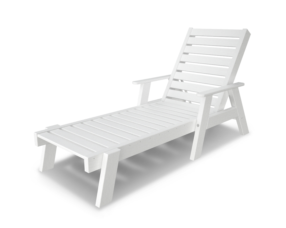 Polywood - Captain Chaise with Arms