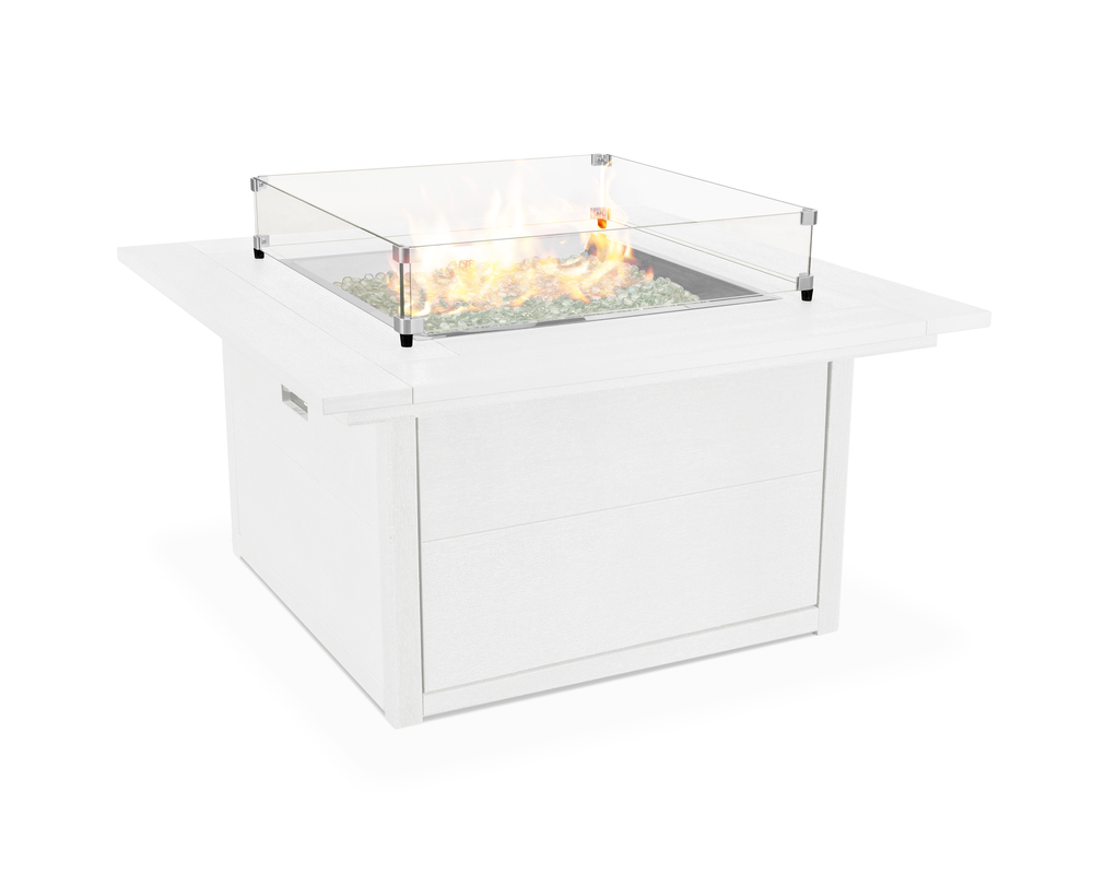 Polywood - Square Fire Table
