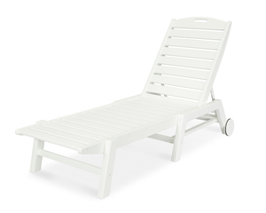 Thumbnail of Polywood - Nautical Chaise with Wheels