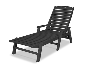 Thumbnail of Polywood - Nautical Chaise with Arms