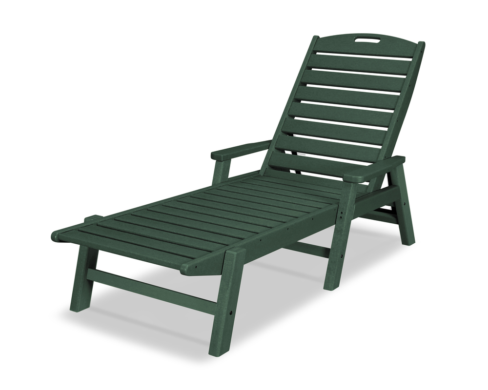 Polywood - Nautical Chaise with Arms
