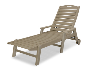 Thumbnail of Polywood - Nautical Chaise with Arms & Wheels