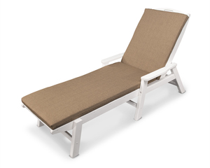 Thumbnail of Polywood - Nautical Chaise with Arms and Ateeva Cushion