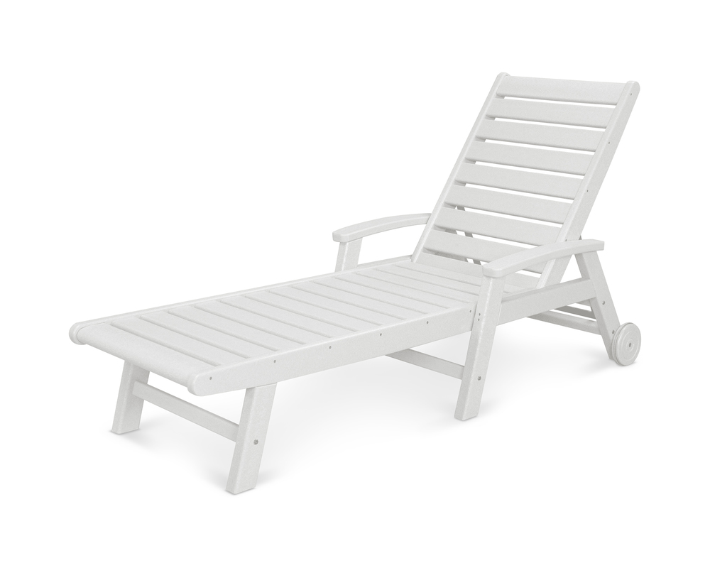 Polywood - Signature Chaise with Wheels
