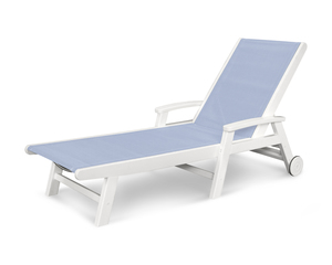 Thumbnail of Polywood - Coastal Chaise with Wheels