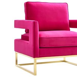 Thumbnail of TOV Furniture - Avery Pink Velvet Chair
