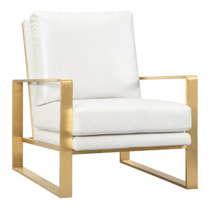 Thumbnail of TOV Furniture - Mott Textured Chair in Pearl