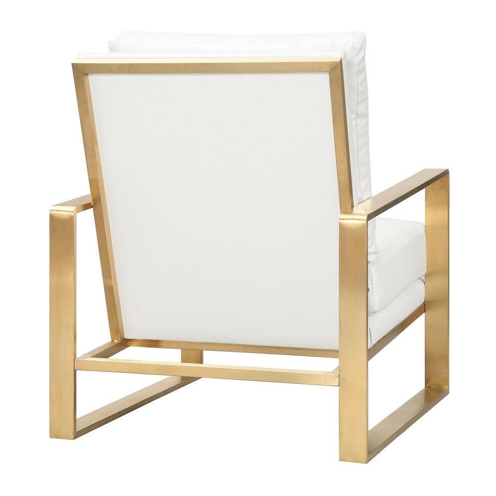 TOV Furniture - Mott Textured Chair in Pearl