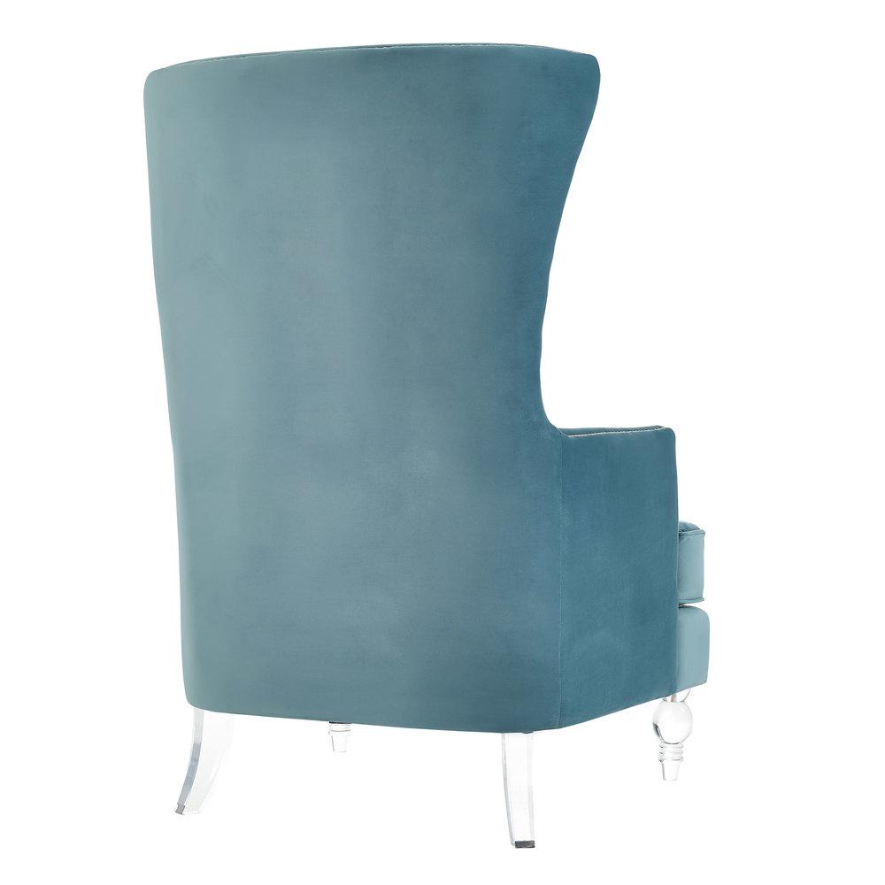 TOV Furniture - Bristol Sea Blue Tall Chair