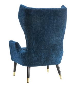 Thumbnail of TOV Furniture - Logan Navy Velvet Chair