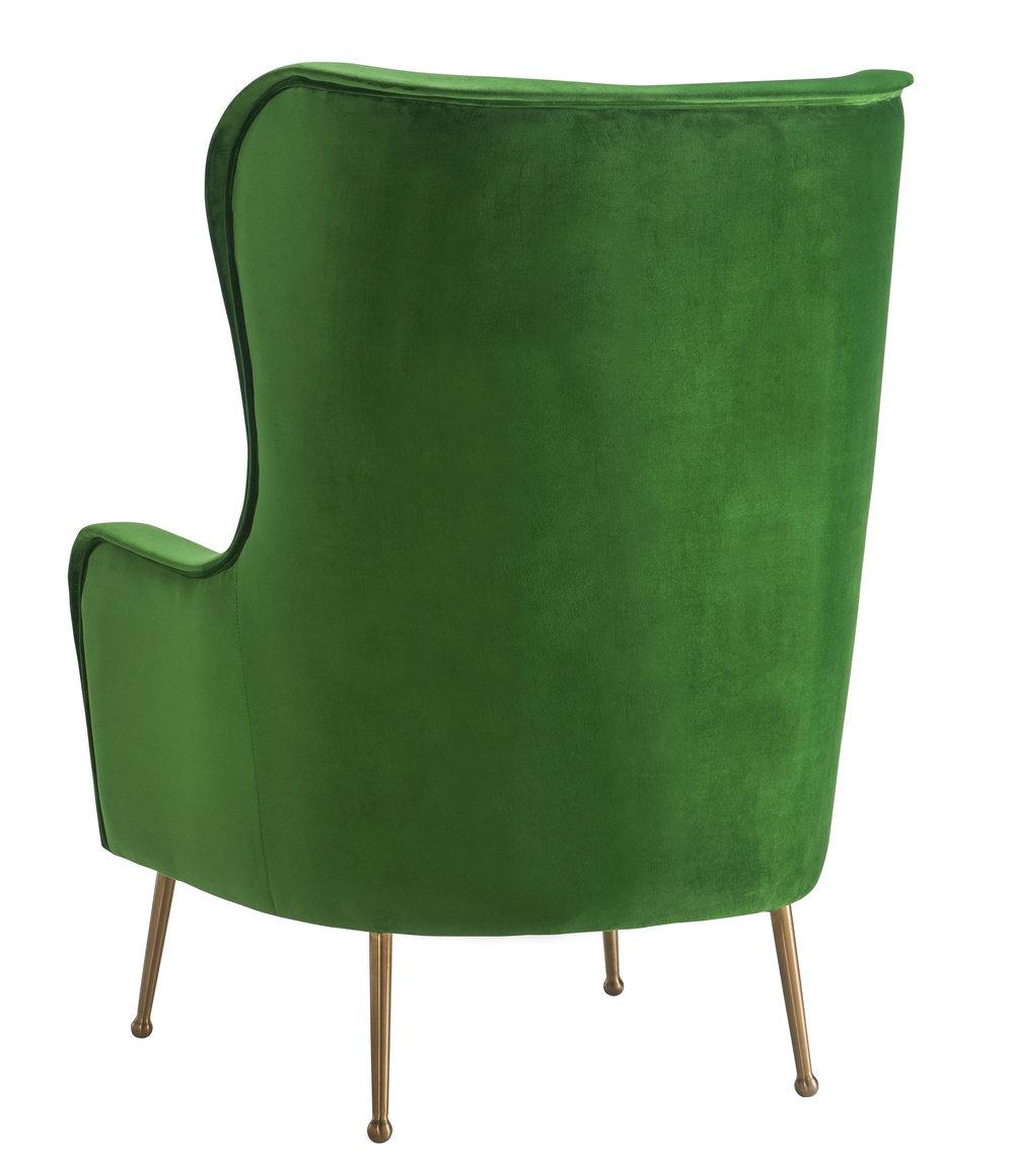 TOV Furniture - Ethan Green Velvet Chair