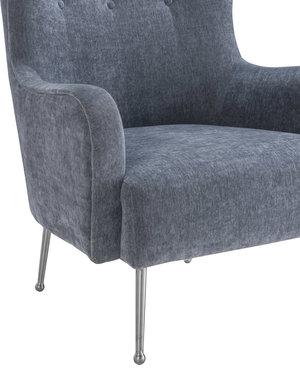 Thumbnail of TOV Furniture - Ethan Grey Velvet Chair