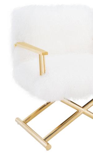 Thumbnail of TOV Furniture - Jodi White Sheepskin Chair