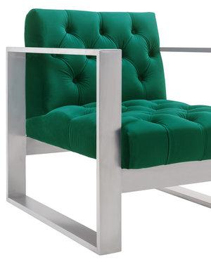 Thumbnail of TOV Furniture - Oliver Green Velvet Chair
