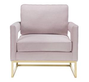 Thumbnail of TOV Furniture - Avery Blush Velvet Chair