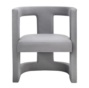 Thumbnail of TOV Furniture - Ada Grey Velvet Chair