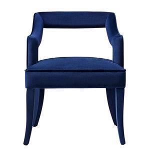Thumbnail of TOV Furniture - Tiffany Navy Velvet Chair