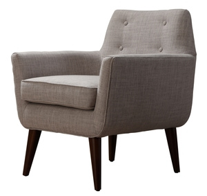 Thumbnail of TOV Furniture - Clyde Beige Linen Chair