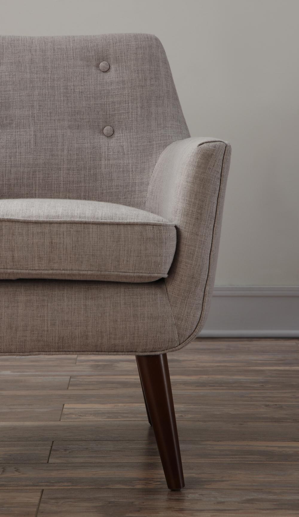 TOV Furniture - Clyde Beige Linen Chair