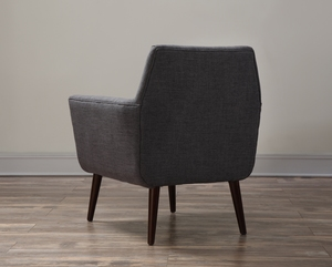 Thumbnail of TOV Furniture - Clyde Grey Linen Chair