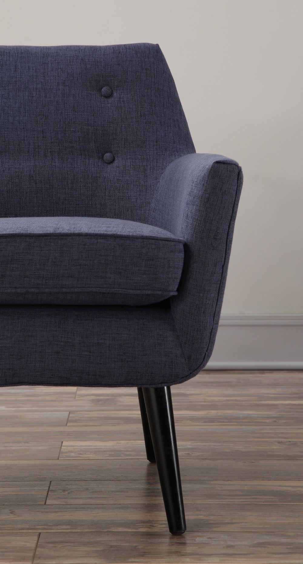 TOV Furniture - Clyde Navy Linen Chair