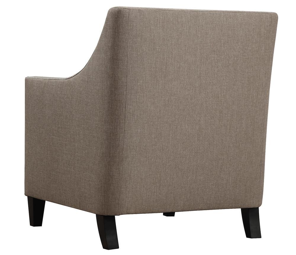TOV Furniture - Asheville Light Grey Linen Chair