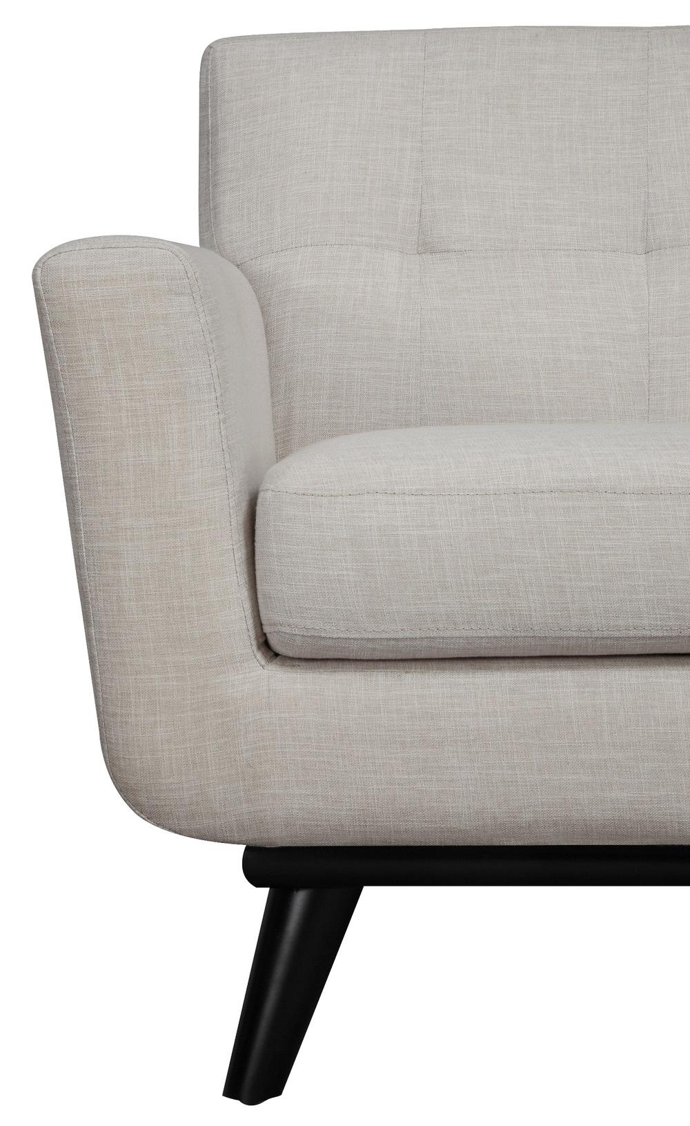 TOV Furniture - James Beige Linen Chair