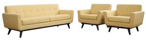 Thumbnail of TOV Furniture - James Mustard Yellow Linen Chair