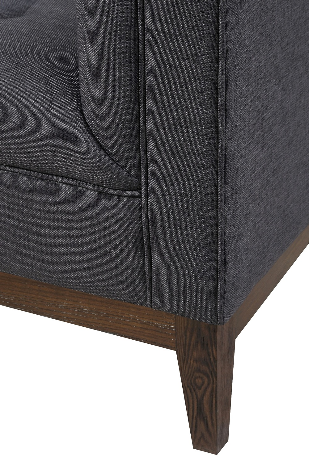 TOV Furniture - Gavin Grey Linen Chair