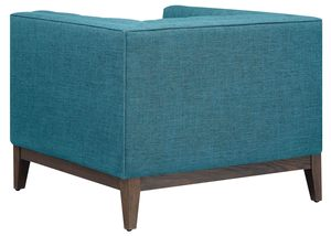 Thumbnail of TOV Furniture - Gavin Blue Linen Chair