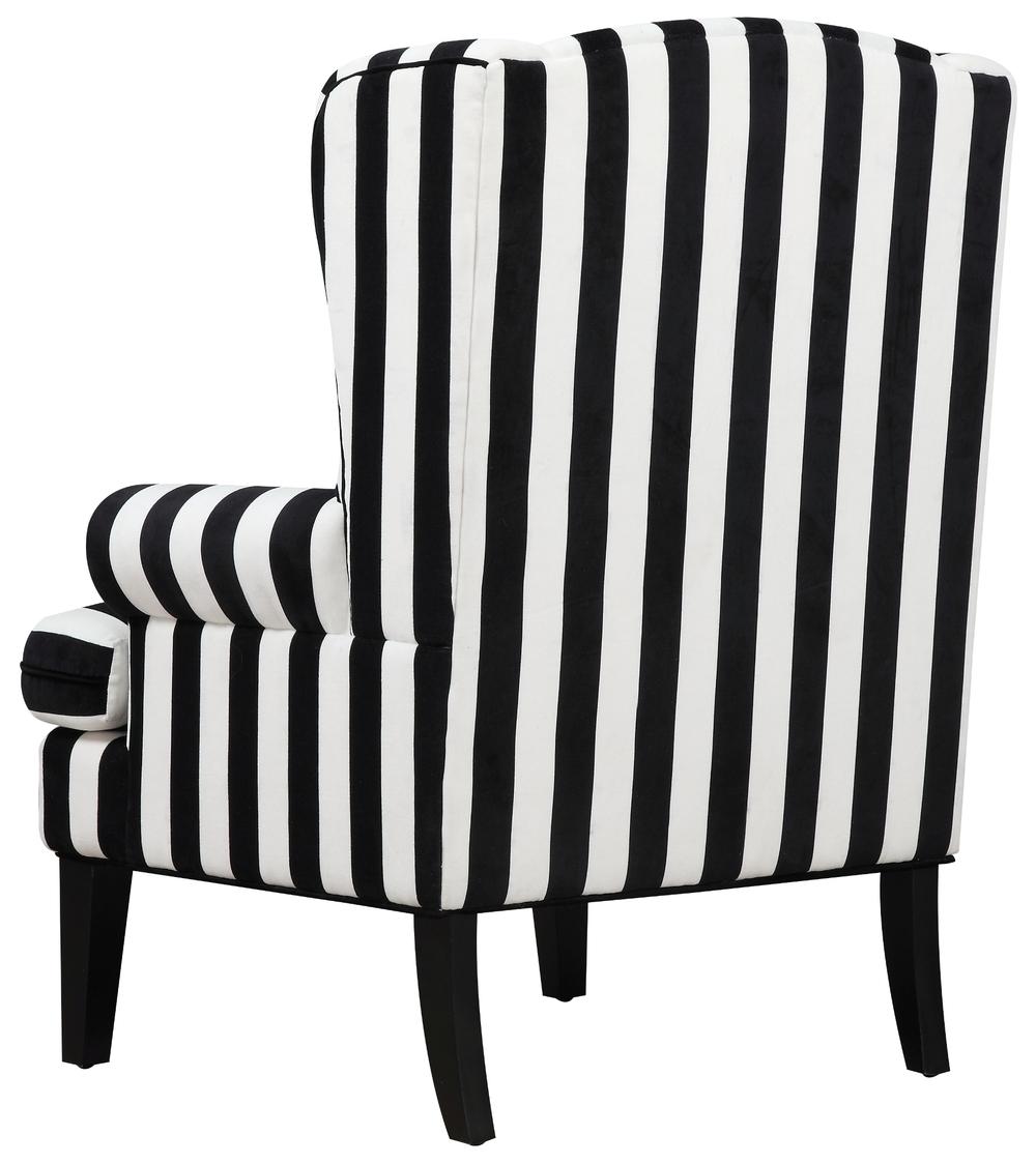 TOV Furniture - Paris Velvet Wingback Chair