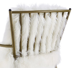 Thumbnail of TOV Furniture - Lena Sheepskin Chair