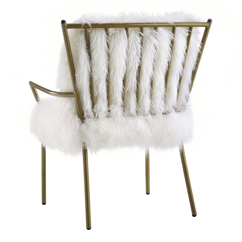 TOV Furniture - Lena Sheepskin Chair