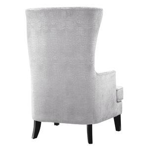 Thumbnail of TOV Furniture - Bristol Silver Croc Tall Chair