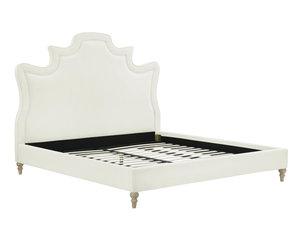 Thumbnail of TOV Furniture - Serenity Cream Velvet Bed