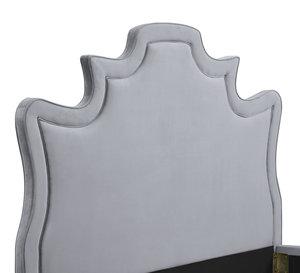 Thumbnail of TOV Furniture - Serenity Grey Velvet Bed