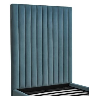 Thumbnail of TOV Furniture - Arabelle Sea Blue Bed in Twin